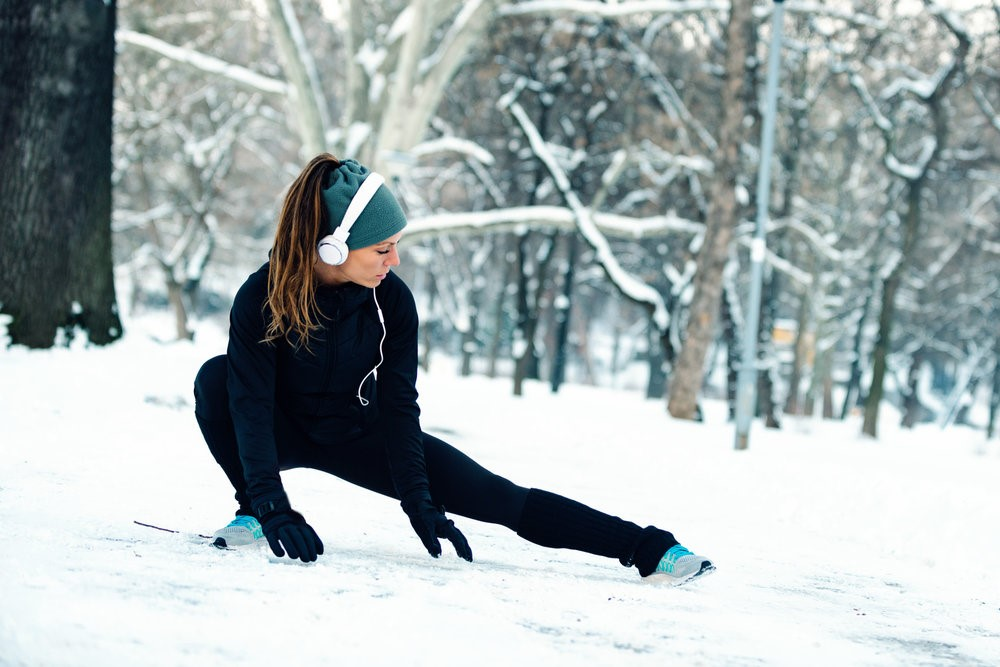 Exercising healthy in the winter