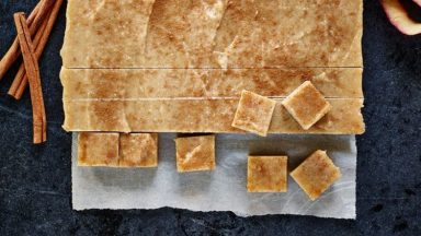 Freezer Apple Cinnamon Fudge