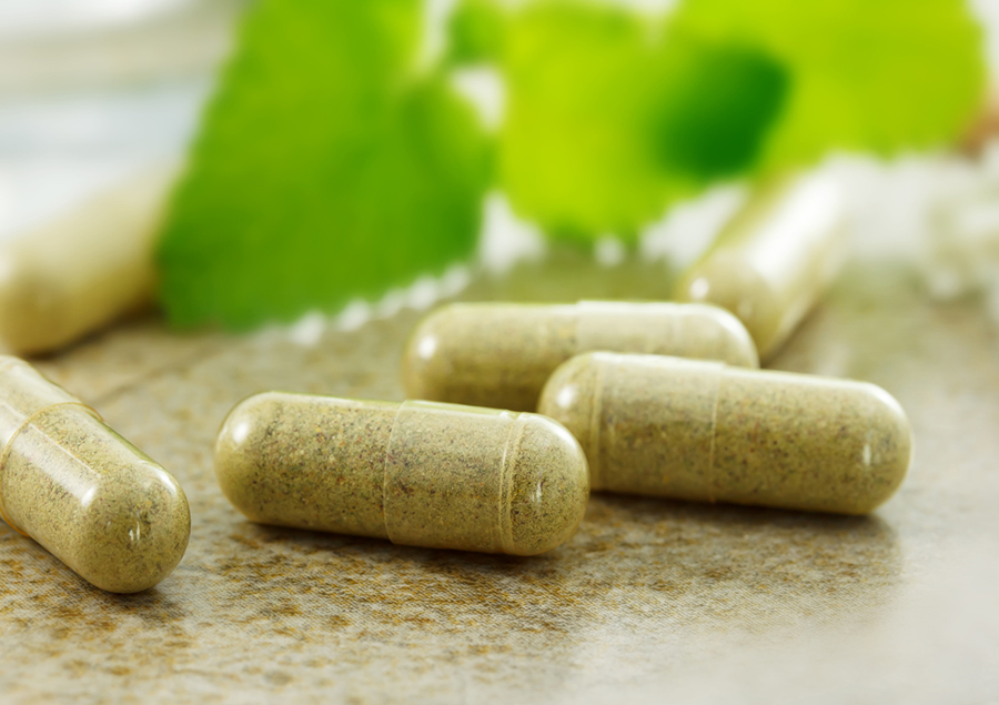 Herbal supplement cupsules