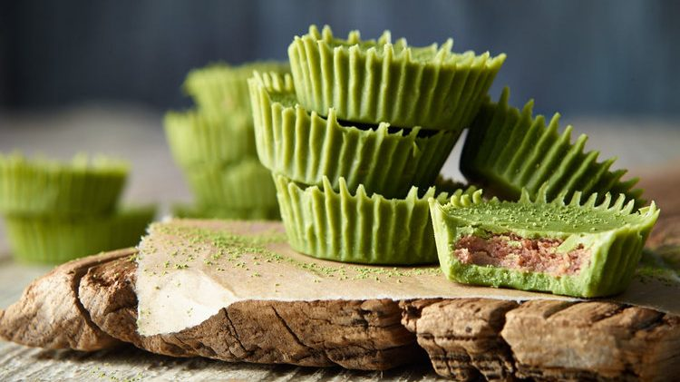 Matcha Almond Butter Cups recipe