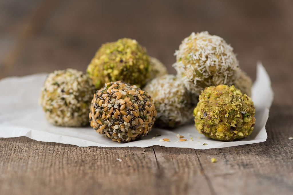 Savoury Bliss Balls