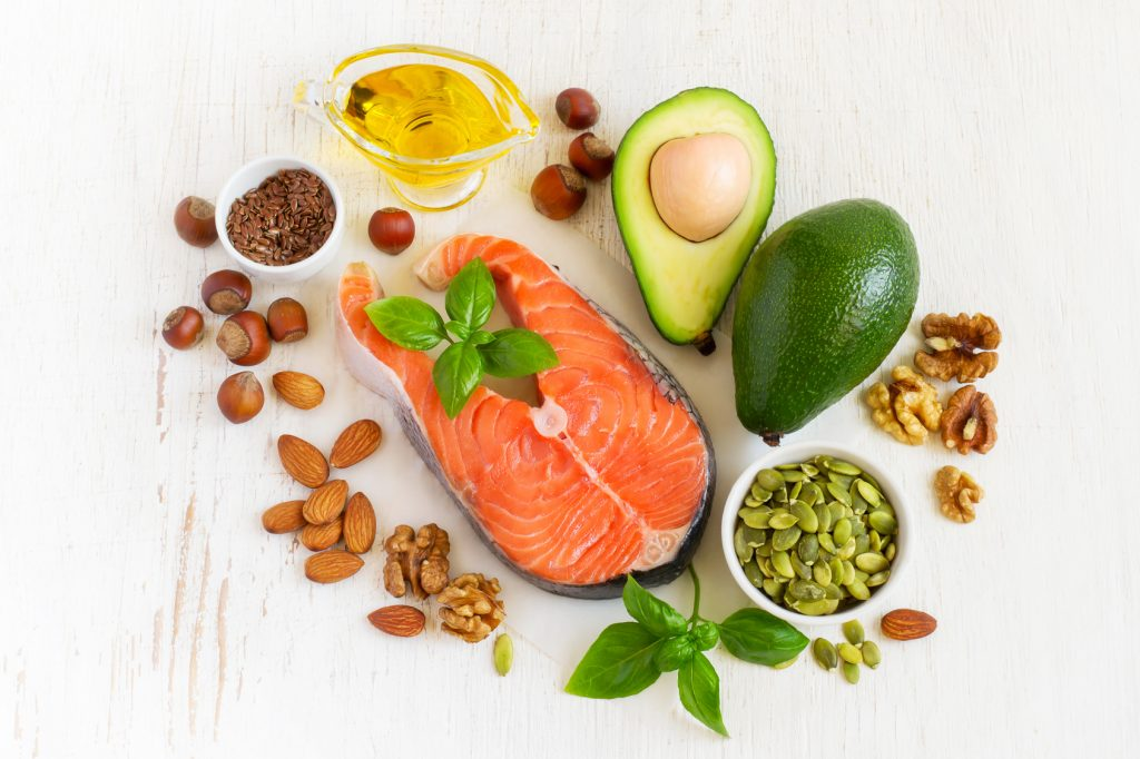Food with omega-3