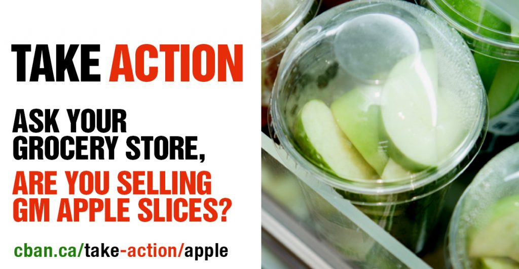 Ask your grocery store if they are selling GM Apple Slices.