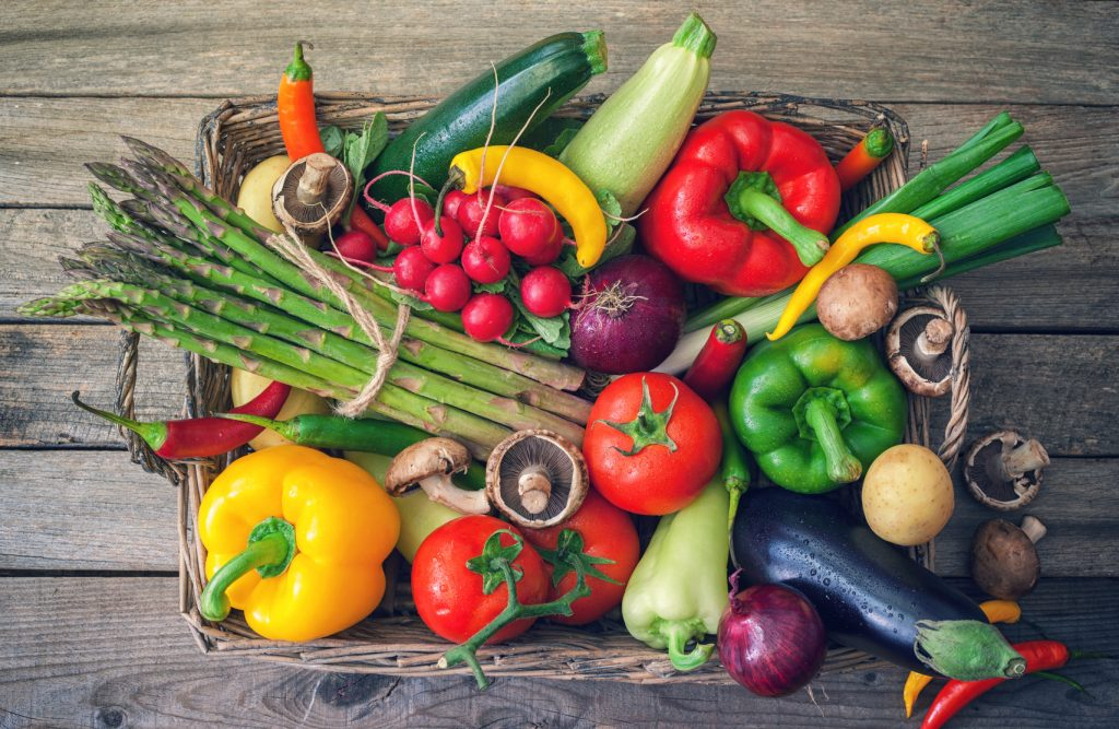 Healthy Organic Vegetables
